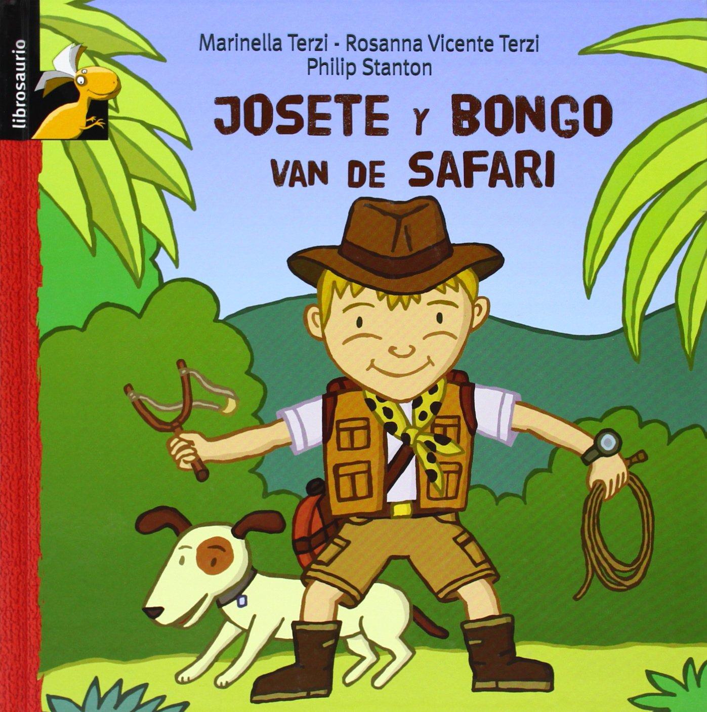josete y bongo van de safari Marinella Terzi